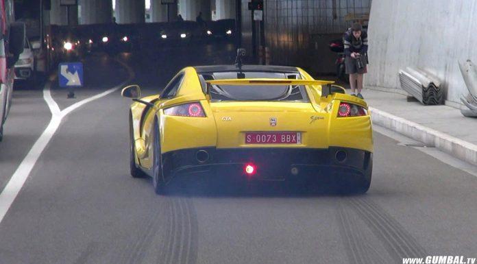 Video: 900hp GTA Spano Rips Through Monaco's Streets