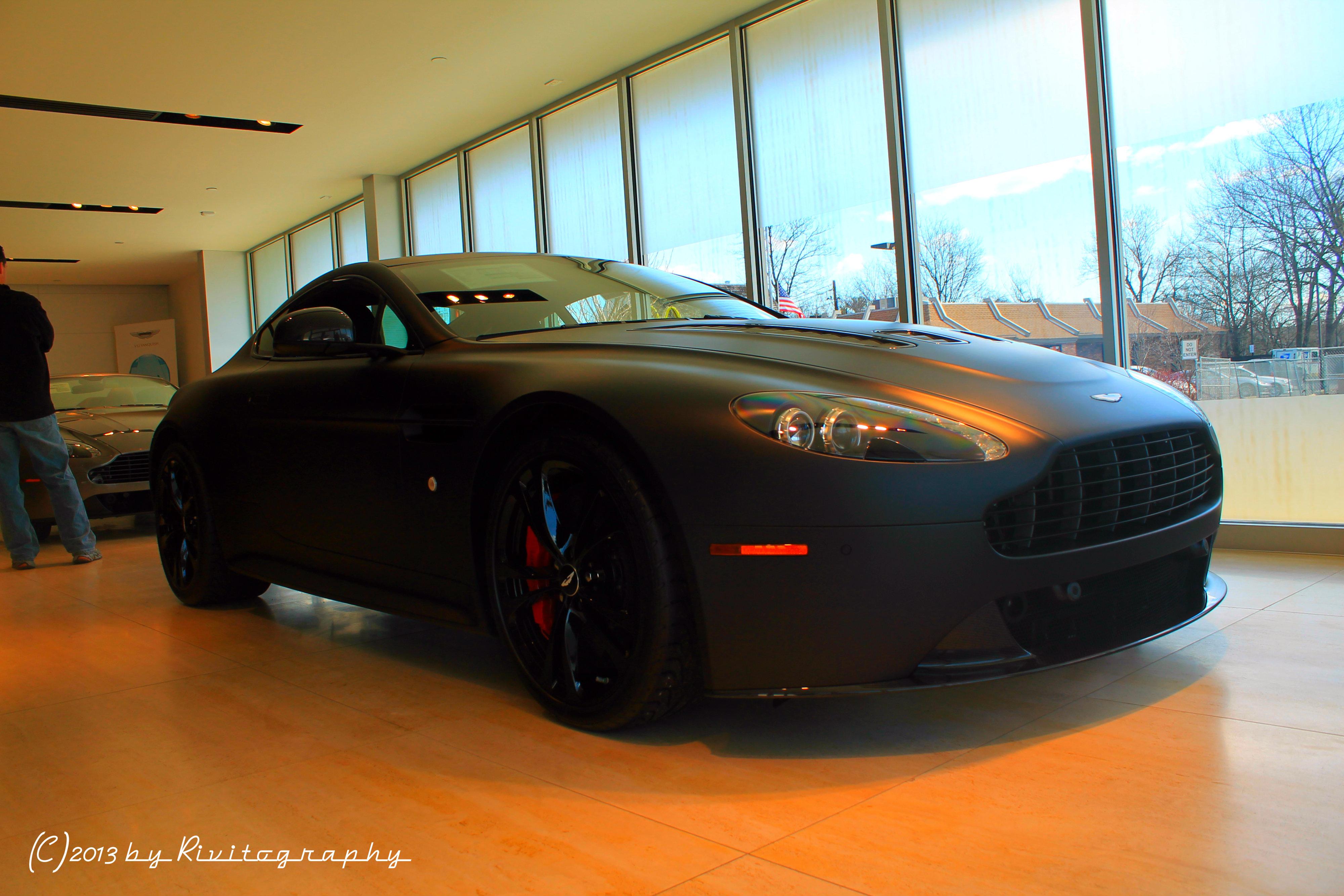 For Sale Satin Black Aston Martin V12 Vantage