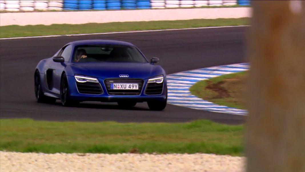 Video Audi R8 V10 Plus takes on the Philip Island Grand Prix Circuit