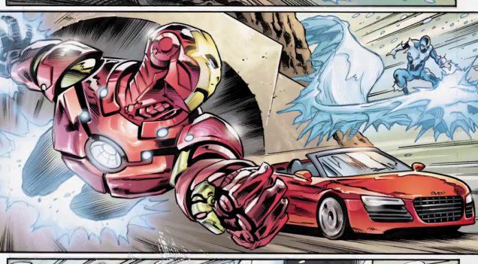 Audi and Marvel Comics
