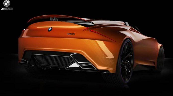 Render: BMW MZ8 Concept Design by Christophe Jourd'hui