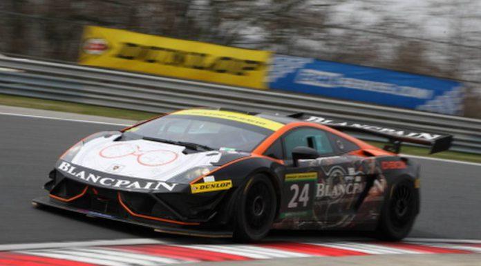 Lamborghini Gallardo Blancpain GT3 FL2 Wins at Hungary 12 Hours
