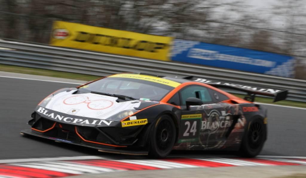 2013 Lamborghini Gallardo Gt3 Fl2 Wins At Hungary 12 Hours Gtspirit