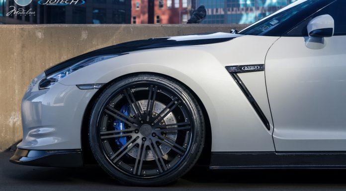 Gallery: Nissan GT-R by Jotech Motorsports on Modulare C13-DC Wheels