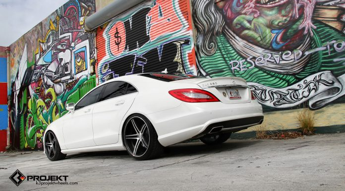 2013 Mercedes-Benz CLS550 on K3 Projekt Wheels