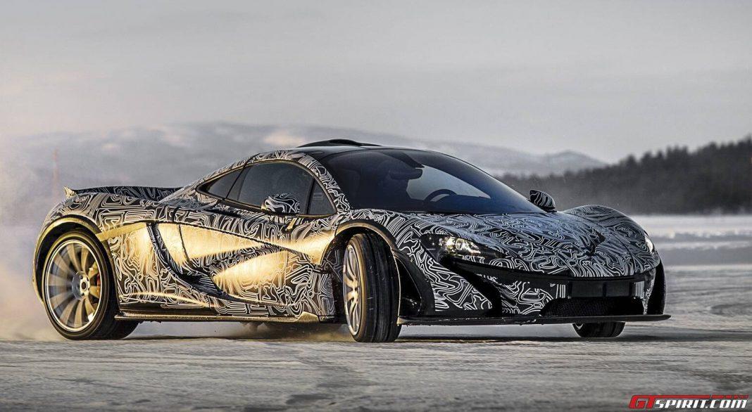 McLaren P1 Ice Testing