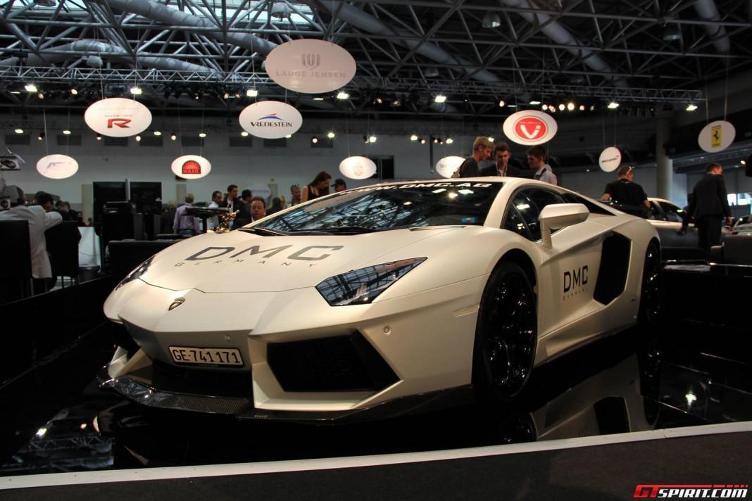 DMC Lamborghini Aventador Molto Veloce at Top Marques 2013