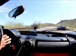 Ferrari Enzo vs Corvette