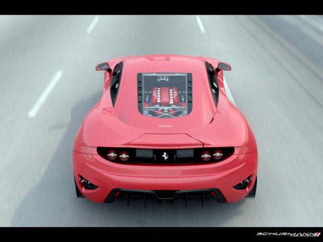 Render: Designer Creates Ferrari 458 Italia Replacement Dubbed Ferrari FT12 Concept