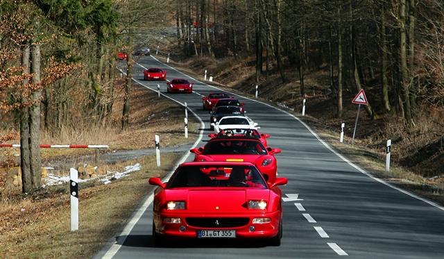 Gallery: First Regional Ferrari Gathering 2013 in East Westphalia-Lippe
