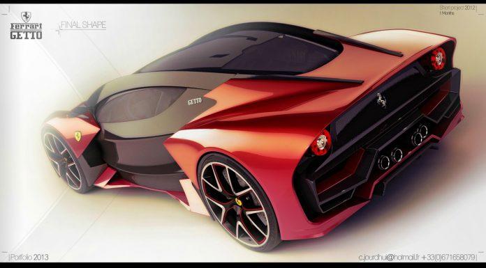 Render: Ferrari Getto by Christophe Jourd'hui