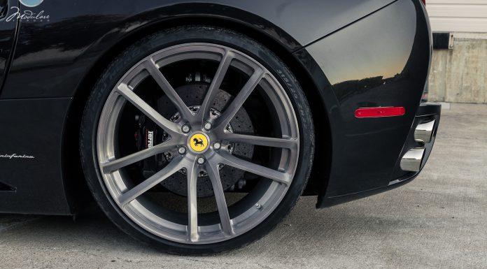 "Ferrari California Riding on Modulare B30 21/22"" Tinted Wheels"