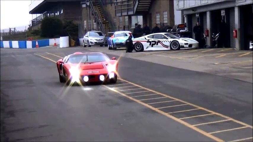 Ford GT40 Preparing for Goodwood revival