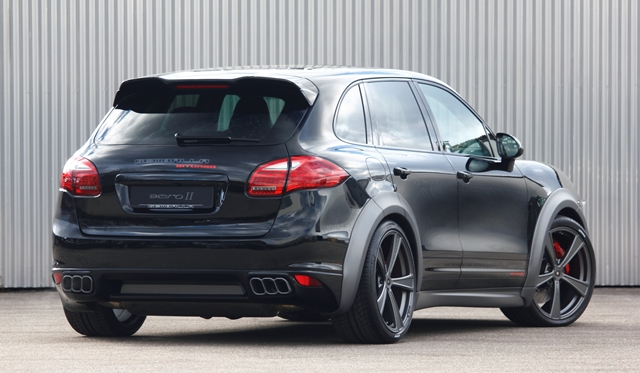 Official: Gemballa Offers Variable Exhaust System for Porsche Cayenne