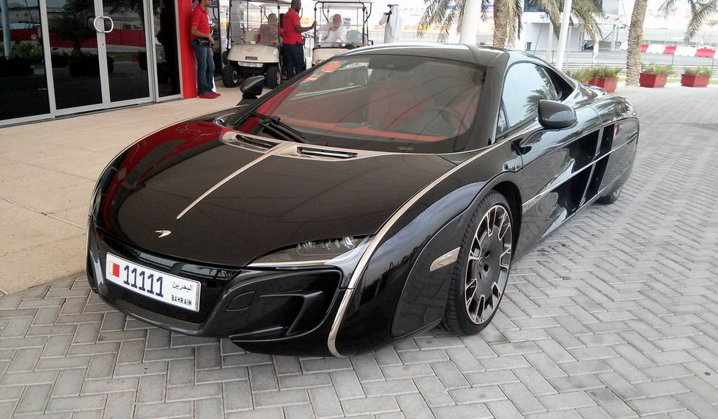One-off McLaren X1 Spotted in Bahrain