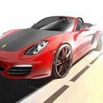 Red 7 Porsche Boxster S Exclusive to Dutch Market