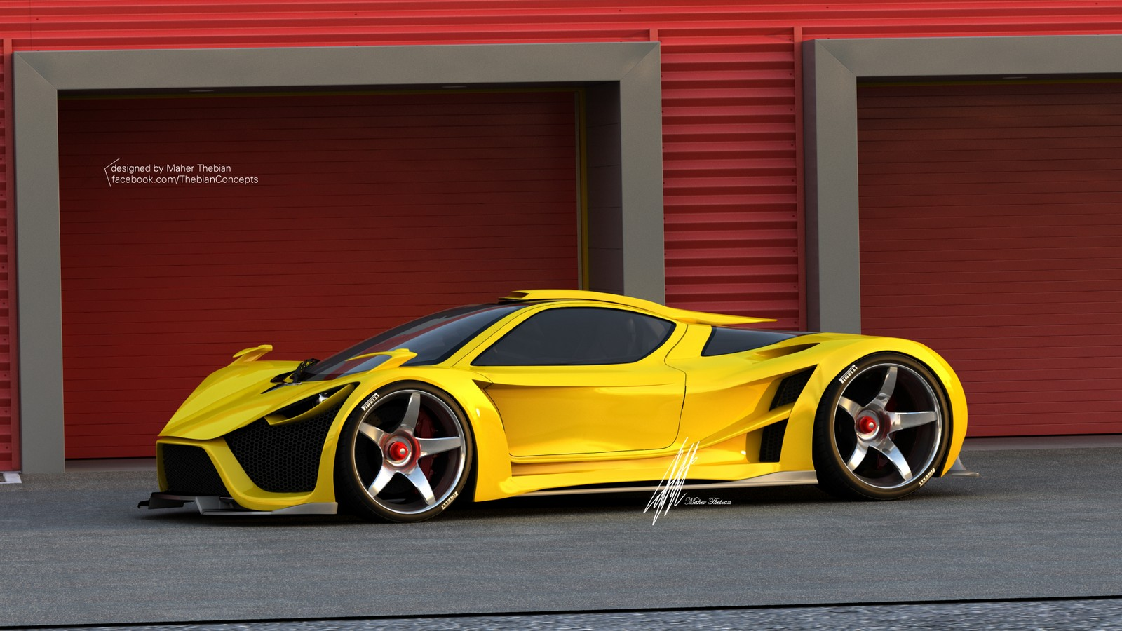 Render Scorpion Supercar By Thebian Concepts Gtspirit