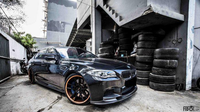 Black BMW F10 M5 Photoshoot by FidoKlik