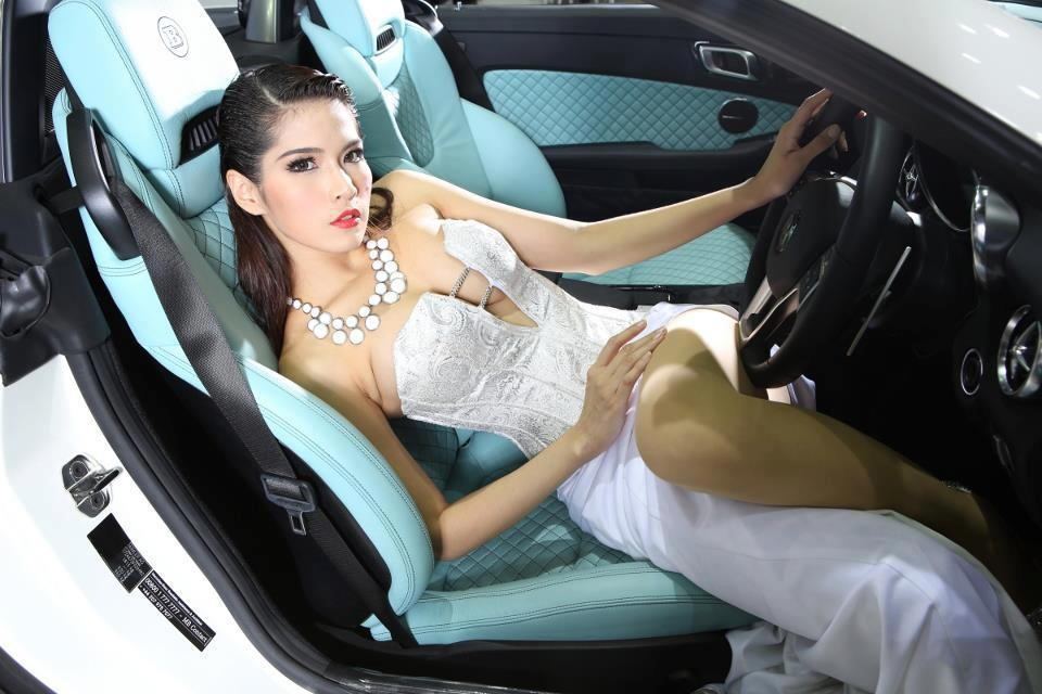 Cars and Girls Brabus Thailand Beauty Pageants