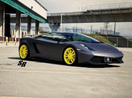 Lamborghini Gallardo with Giallo Tenerife PUR Wheels