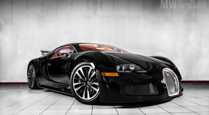 The Only Bugatti Veyron Sang Noir in Canada