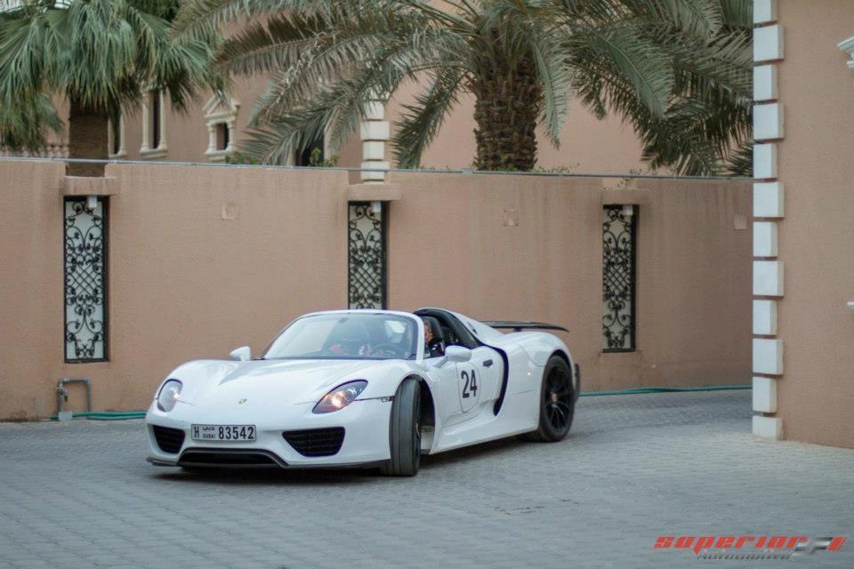 Porsche 918 Spyder Private Viewing by Superior Automotive