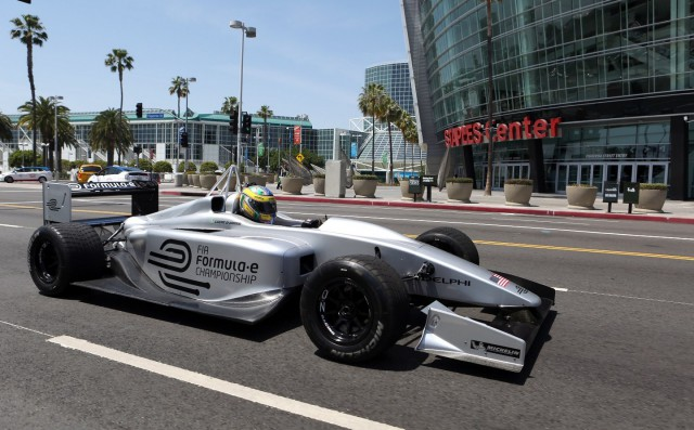 FIA Formula E Race Car