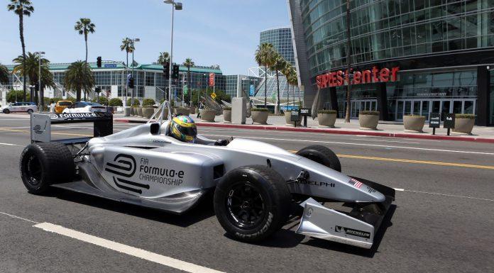 FIA Formula E Race Car