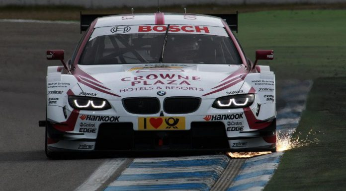 BMW Completes DTM Test Days with Victory