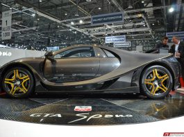 Updated GTA Spano to Show at Top Marques Monaco
