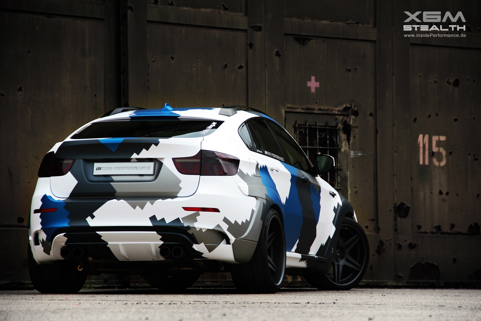 Official 700hp Bmw X6 M Stealth By Inside Performance