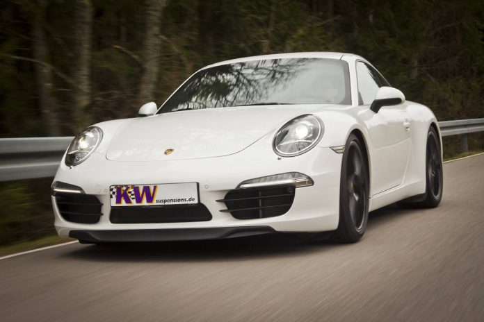 Official: KW Coilovers for Porsche 991