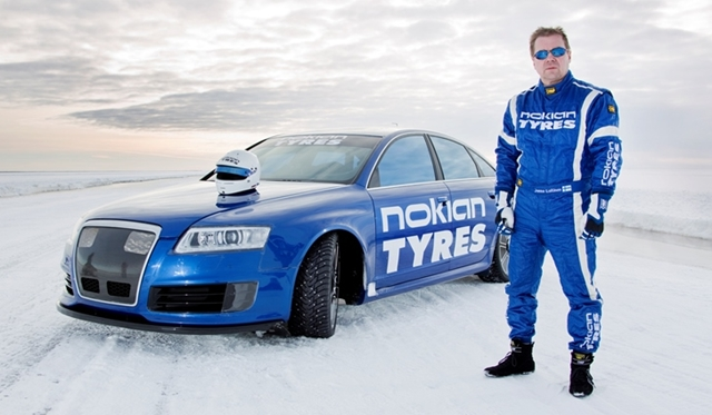 World Record: MTM-Nokian RS6 reaches 335.713 km/h on Ice