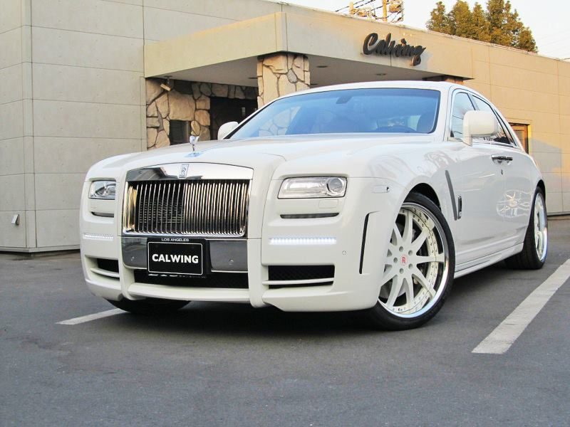 Mansory White Rolls Royce Ghost by Calwing 213 Motoring