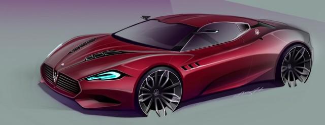 Render: Maserati GranCorsa Concept by AJ Merk