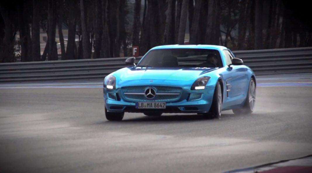Mercedes-Benz SLS AMG Electric Drive Chris Harris