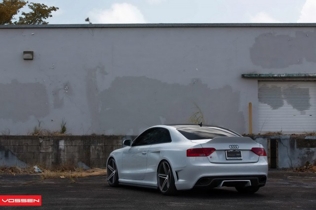 Audi RS5 by OSS Designs and Vossen Wheels