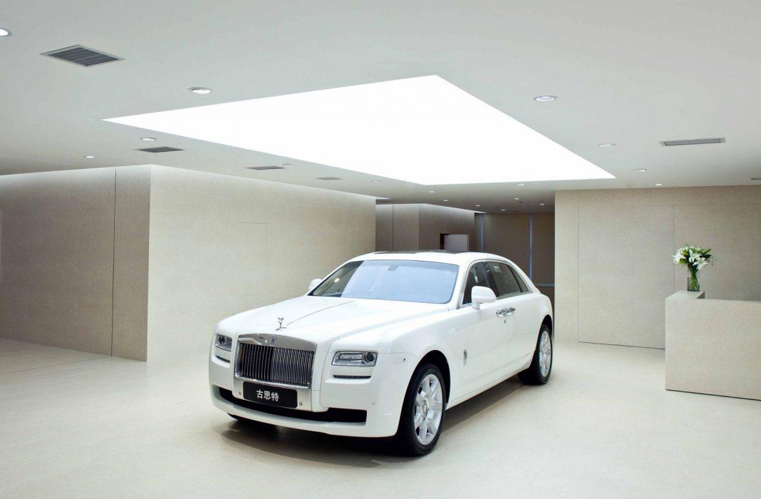 Rolls Royce Showroom China