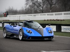 Photo Of The Day: One-off Pagani Zonda PS
