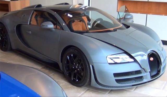 Video: Walkaround of the Geneva 2012 Bugatti Veyron Grand Sport Vitesse