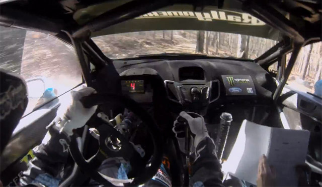 Video: Ken Block Races Through the Forests of Missouri
