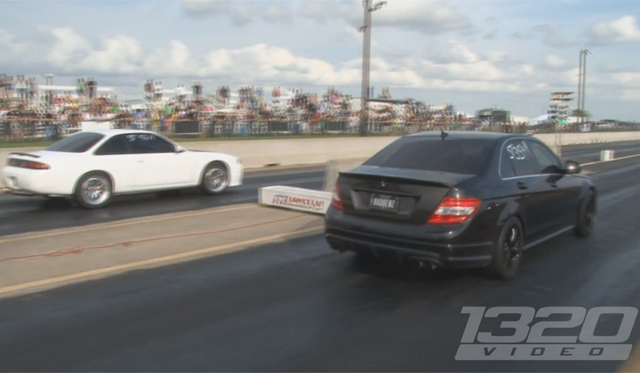 Video: Watch a 60-Year-Old Woman Drag Racing her 475hp Mercedes-Benz C63 AMG
