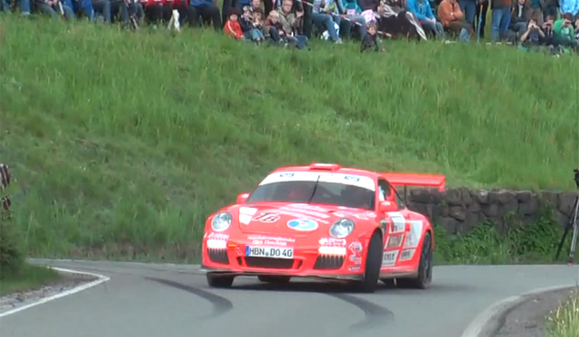 Video: 2012 Porsche 997.2 911 GT3 RS Goes Rallying