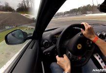 Video: Awesome Ferrari F12 Berlinetta Rips up Monza