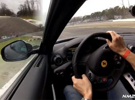 Video: Awesome Ferrari F12 Berlinetta Rips up Monza
