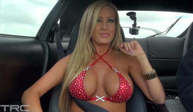 Video: Jessica Barton Rides Shotgun in 1050whp Toyota Supra