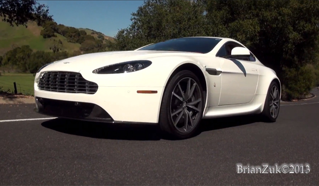 Video: Aston Martin V8 Vantage With Capristo Exhaust