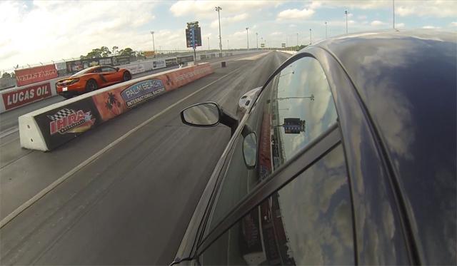 Video: McLaren MP4-12C Destroys Ferrari 458 Italia in Drag Race