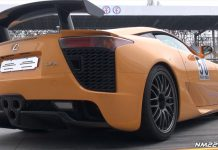 Video: Hear the Lexus LFA Nurburgring Edition Revving