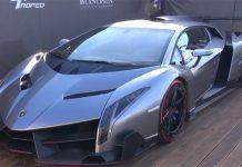 Video: $4 Million Lamborghini Veneno at Blancpain Super Trofeo Series in Monza